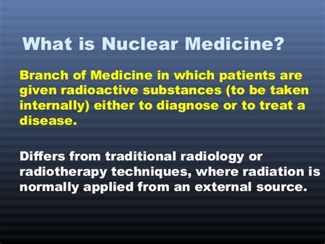 Nuclear Medicine In by Nuclear Medicine In Thyroidology