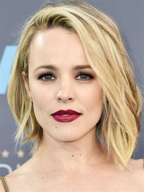 the rachel haircut ways to wear it 8 striking yet easy ways to wear a red wine lip to be