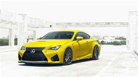 Yellow Lexus Rcf Wallpaper Hd Car Wallpapers Id 5588