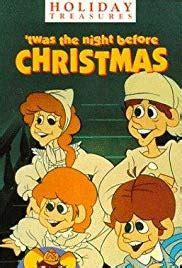the night before christmas movie trivia twas the before tv 1974 imdb