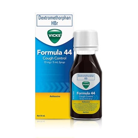 Vicks Formula 44 Syrup 54ml vicks formula 44 cough vicks ph