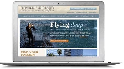 Pepperdine Mba Application Login by Graduate School Marketing Elliance Brand Web Search