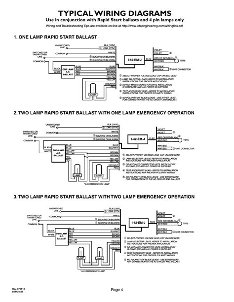Bodine Emergency Ballast Wiring Diagram - Drivenheisenberg
