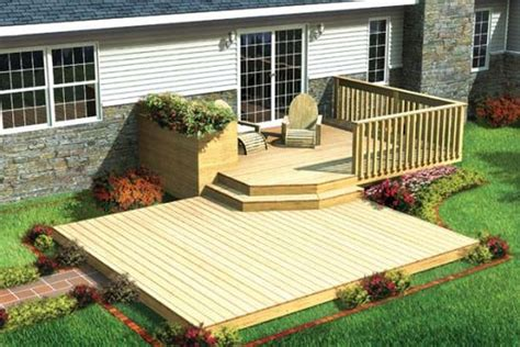 deck designs for small backyards small deck ideas for mobile homes google search decks