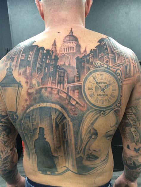 back tattoo hours another monster 8 hour session completed yesterday on lee