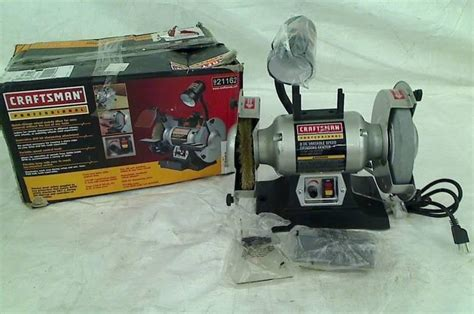6 variable speed bench grinder craftsman professional variable speed 6 quot bench grinder ebay