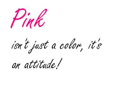 Pink Color Quotes Quotesgram | pink quotes and sayings quotesgram