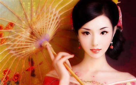 wallpaper girl painting japanese girl wallpaper wallpaper wide hd