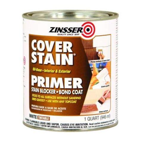best zinsser primer for cabinets zinsser 1 qt white cover stain oil based interior