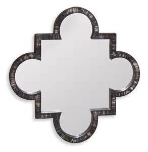 jabal contemporary quatrefoil buffalo horn inlay wall