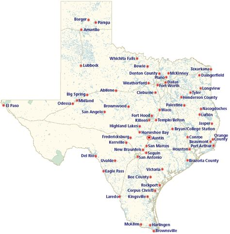 texas map and cities 302 found