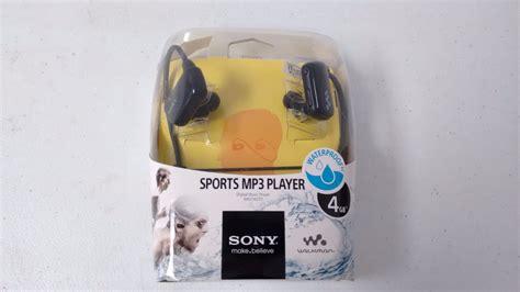 Sony Walkman Sports Mp3 Player Nwz W273 4gb Blue Garansi Resmi sony walkman nwz w273 digital sports mp3 player