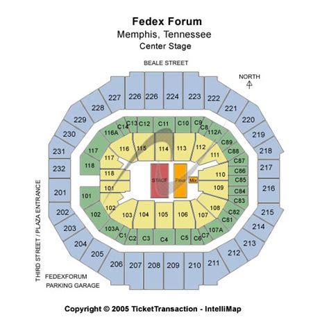 Fedexforum Box Office by Disney On Tickets Seating Chart Fedexforum