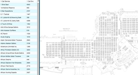 dsc floor plan dsc conservation exhibitor floor plan list now live