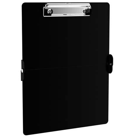 Name Tag Id Acrylic Model Vertical Transaparant Limited black clipboards