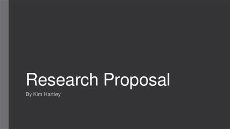 format of research proposal ppt research proposal presentation