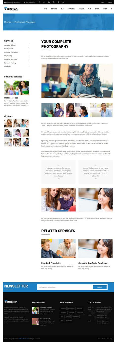 theme wordpress lms education lms responsive wordpress theme by truemart