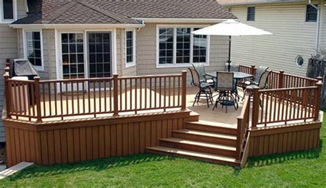 backyard deck prices outdoor deck pictures