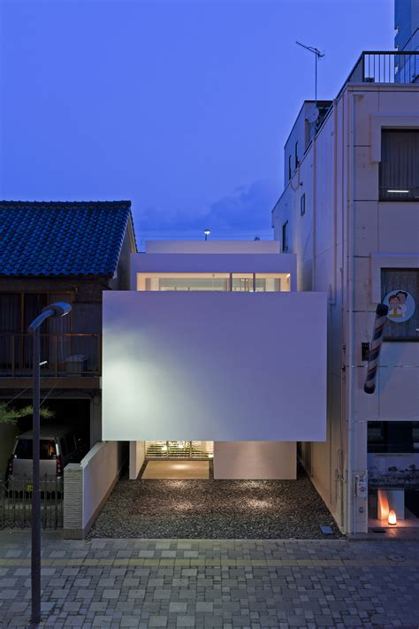 modern japanese house modern japanese townhouse with inner garden and podium roof sections home improvement inspiration