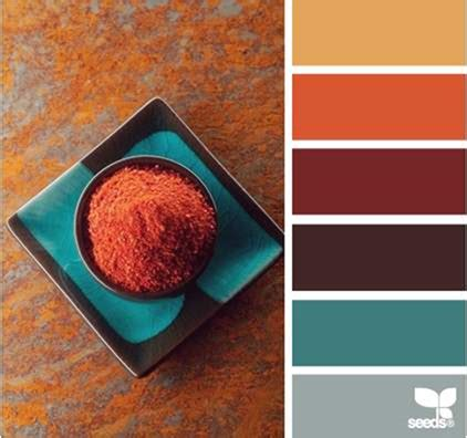 30 thanksgiving color palettes