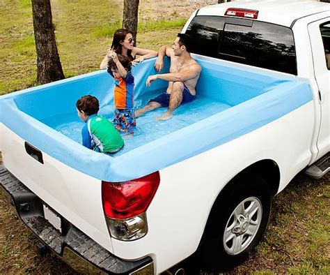 truck bed pool truck bed swimming pool