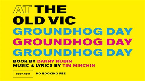 groundhog day the musical groundhog day vic and tim minchin magic