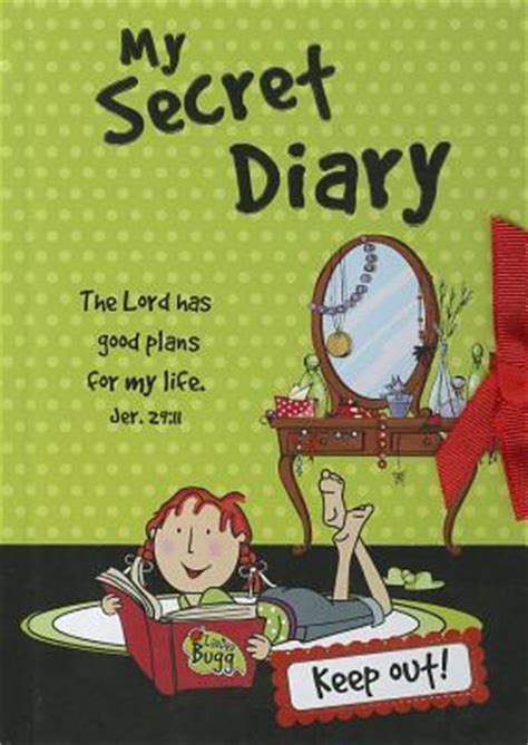 my secret books my secret diary christian gifts 9781432103910