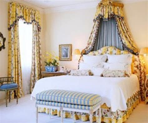 country blue and yellow ideas decorating a shabby chic bedroom country style