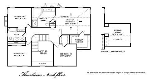 2nd floor plan design second floor floor plans 2 new home plans 20 x 40 floor