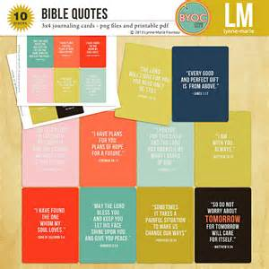 the lilypad journal cards bible quotes journaling cards