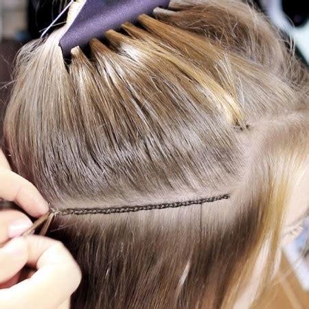 hair weave how its done de techniek djarling