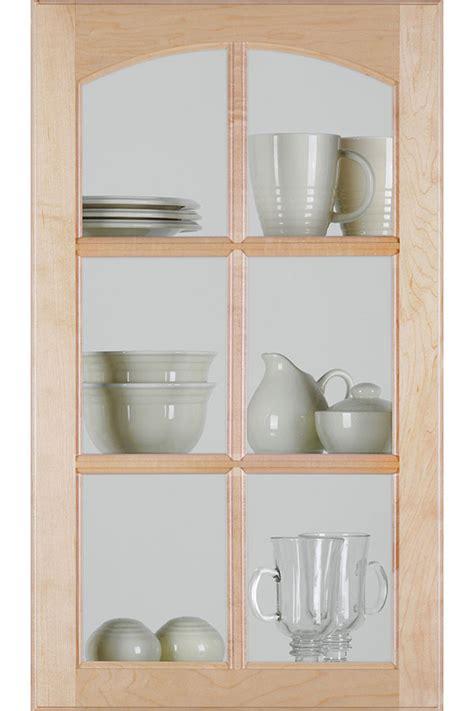 cabinet door mullion inserts arch mullion cabinet door with clear insert homecrest
