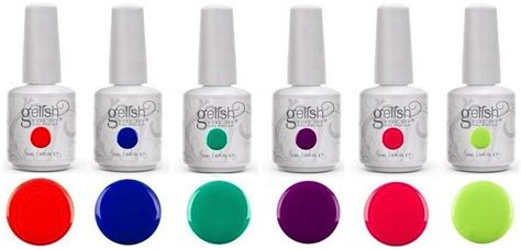 gel polish color speing 2014 harmony gelish 2014 summer collection gel nail polish