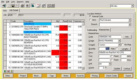 Survey Software - quantity survey software quantity survey and estimation software