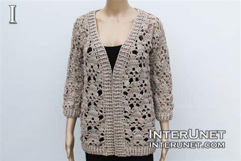 how to design a jacket pattern jacket crochet pattern interunet