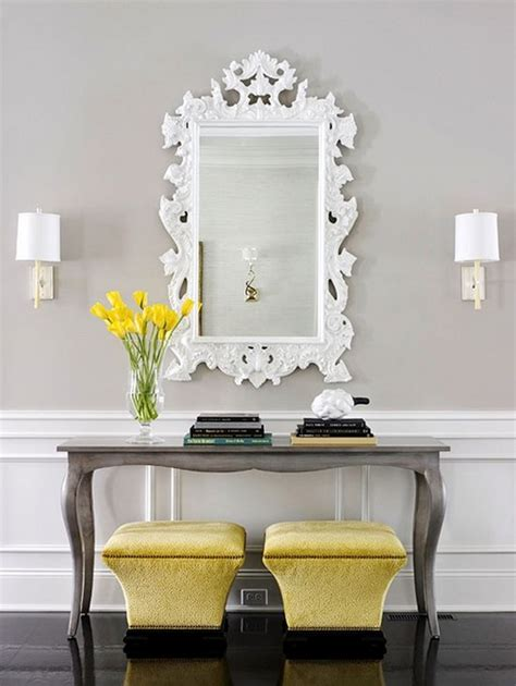 White Entrance Table Beautiful Console Tables For Modern Decor