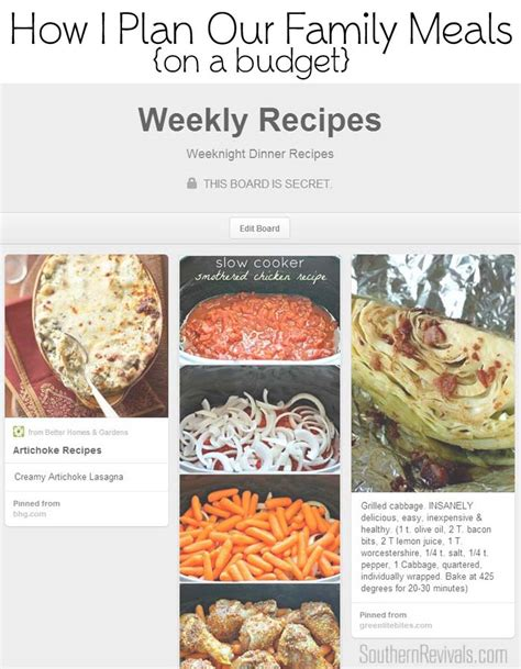 dinner on a budget how i plan our weekly meals feeding a family on a budget