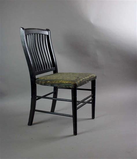 Aesthetic Chair by Aesthetic Movement Child S Ebonised Chair Stock Furniture