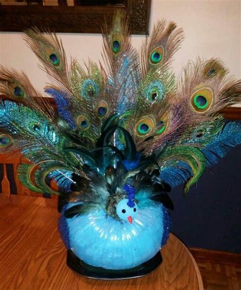 peacock craft ideas for my peacock pumpkin craft ideas