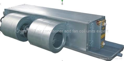 fan coil heat exchanger ceiling concealed duct fan coil unit dekon hong kong