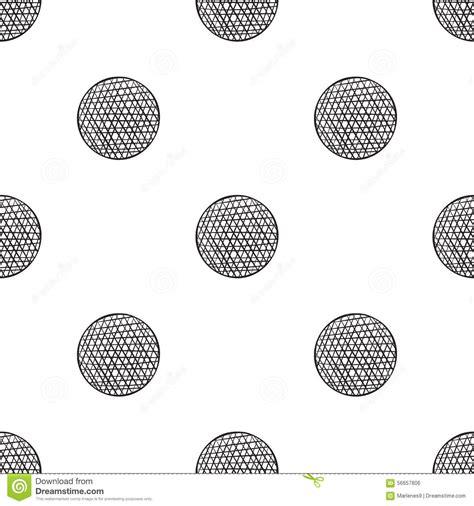 polka dot seamless pattern background hand drawn vector hand drawn polka dot stock vector image 56657806