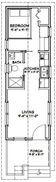 12 20 tiny houses pdf floor plans 452 sq excellentfloorplans in 10x30 tiny house 300 sq ft pdf floorplan washington