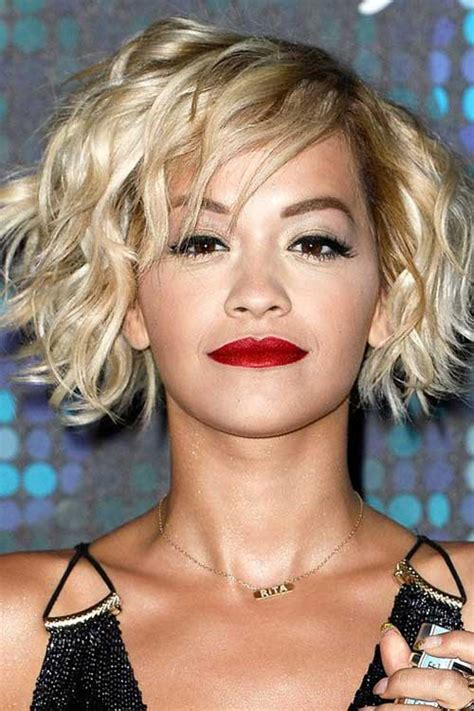 rita ora choppy hairstyles 20 best short blonde bob bob hairstyles 2015 short