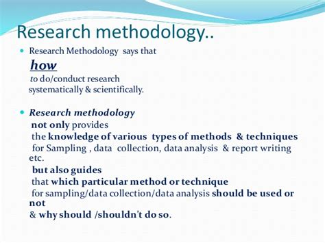 Types Of Report Writing In Research Methodology by Introduction Research Methodology