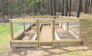 fence ideas for a vegetable garden self sufficiency