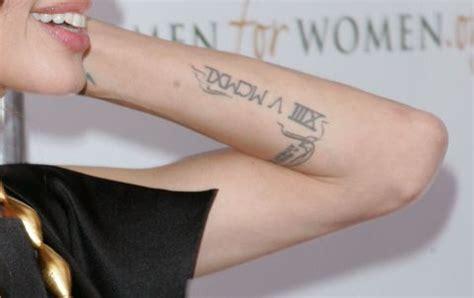 tattooed heart traduzione tatuaggi angelina jolie il significato