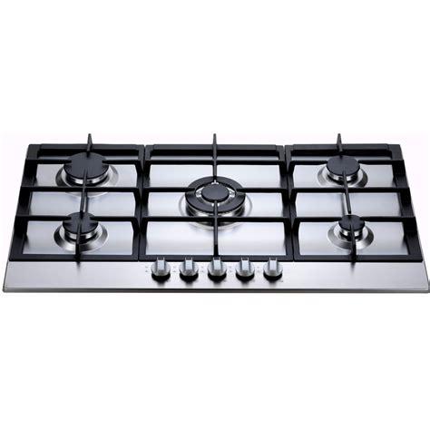 bellini cooktop bellini 90cm 5 burner stainless steel gas cooktop