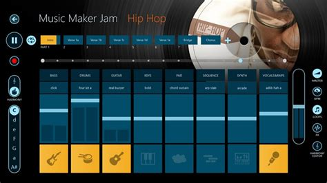Jam Microsoft maker jam app for windows in the windows store