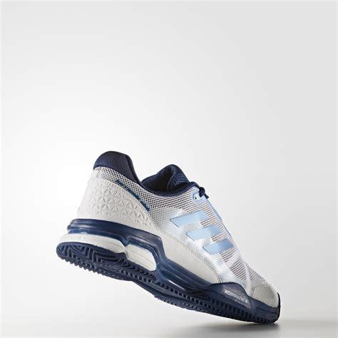 Adidas Barricade Club 2017 Blue White Sepatu Tenis Tennis Original adidas mens barricade club 2017 tennis shoes white