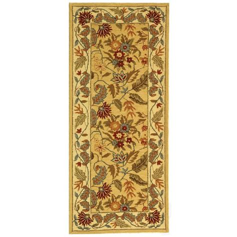 2 x 6 runner rug safavieh chelsea ivory 2 ft 6 in x 6 ft rug runner hk141a 26 the home depot